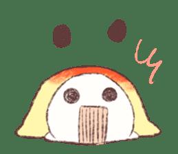Panda Omelet sticker #1394675