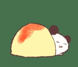 Panda Omelet sticker #1394676