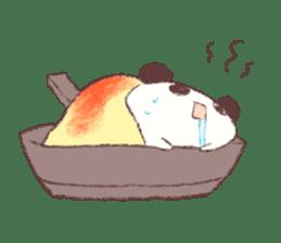 Panda Omelet sticker #1394680