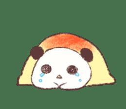 Panda Omelet sticker #1394681