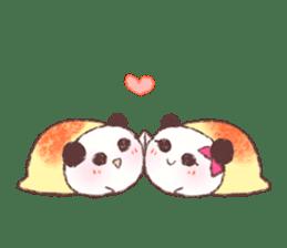 Panda Omelet sticker #1394685