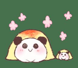 Panda Omelet sticker #1394686