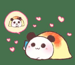 Panda Omelet sticker #1394688