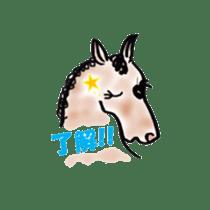 We Love Horses sticker #1394892