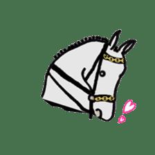 We Love Horses sticker #1394903
