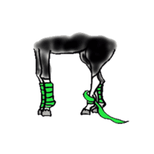 We Love Horses sticker #1394908