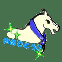 We Love Horses sticker #1394910