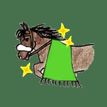 We Love Horses sticker #1394911