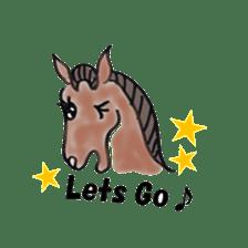 We Love Horses sticker #1394912