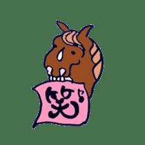 We Love Horses sticker #1394921