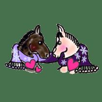 We Love Horses sticker #1394927