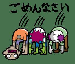 Zombies live everyday sticker #1394975