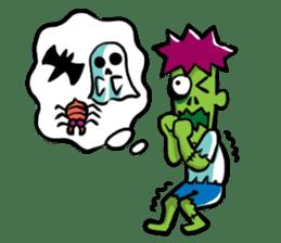 Zombies live everyday sticker #1394989