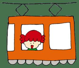 Daily life of Haru and Ruu sticker #1395101