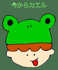 Daily life of Haru and Ruu sticker #1395102