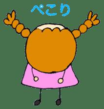 Daily life of Haru and Ruu sticker #1395117