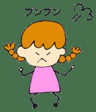 Daily life of Haru and Ruu sticker #1395122