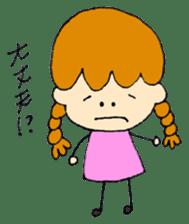 Daily life of Haru and Ruu sticker #1395126