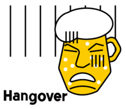 Mr. Beer  For drinking parties(ENG) sticker #1395298
