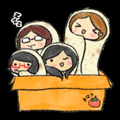 Happy Burrito Friends