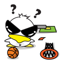 Jampu : Rise of the crazy duck. sticker #1396432