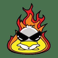 Jampu : Rise of the crazy duck. sticker #1396435