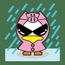 Jampu : Rise of the crazy duck. sticker #1396441