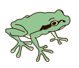 kansai KAERU sticker #1397101