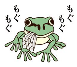 kansai KAERU sticker #1397120