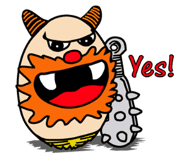 KHAI-ZA (eggs gang) sticker #1397165