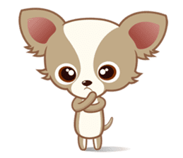 Lucky Chihuahua sticker #1398491