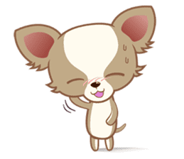 Lucky Chihuahua sticker #1398507