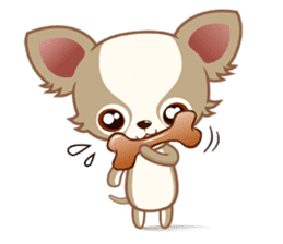 Lucky Chihuahua sticker #1398514