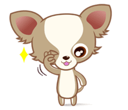 Lucky Chihuahua sticker #1398522