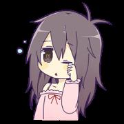 สติ๊กเกอร์ไลน์ Neminko-chan