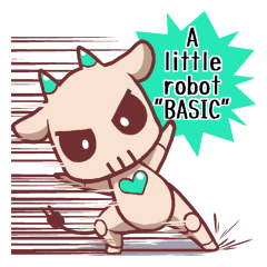 "A little robot ""BASIC""_en"