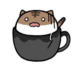 cafe nyan sticker #1400626