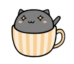 cafe nyan sticker #1400631