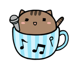 cafe nyan sticker #1400633