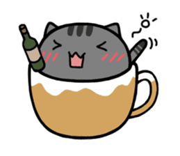 cafe nyan sticker #1400642