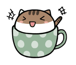 cafe nyan sticker #1400643