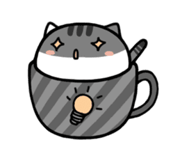 cafe nyan sticker #1400644