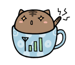 cafe nyan sticker #1400648