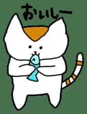 Mr queue of cat Japanese version sticker #1402210