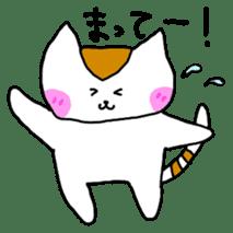 Mr queue of cat Japanese version sticker #1402216
