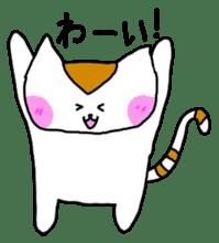 Mr queue of cat Japanese version sticker #1402224