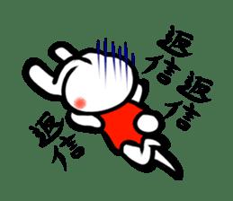 rabbitcouple sticker #1402984