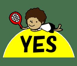 TENNIS sticker #1403014