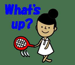 TENNIS sticker #1403016