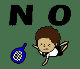 TENNIS sticker #1403017